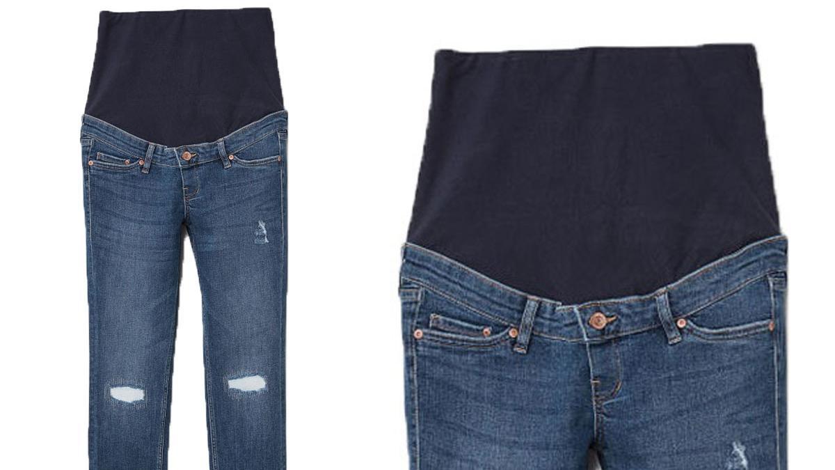 Dżinsy dla ciężarnych z H&M