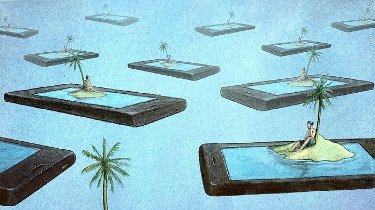 Ilustracje polskiego grafika biją rekordy popularności za granicą. Dlaczego? Bo mówią o nas więcej, niż chcielibyśmy wiedzieć