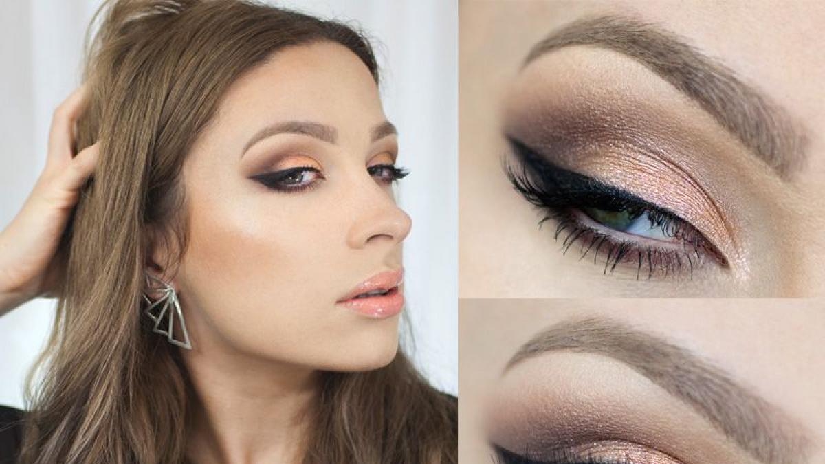 Makijaż Idealny Do Małej Czarnej Krok Po Kroku Polkipl