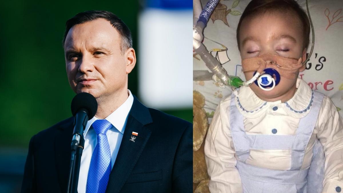 """""""Musi zostać ocalony!"""" - prezydent Andrzej Duda zabrał głos w sprawie Alfiego Evansa"""
