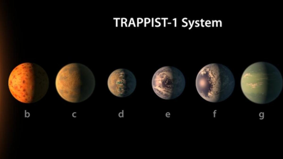 NASA odkryło 7 nowych planet! Tam może być życie!