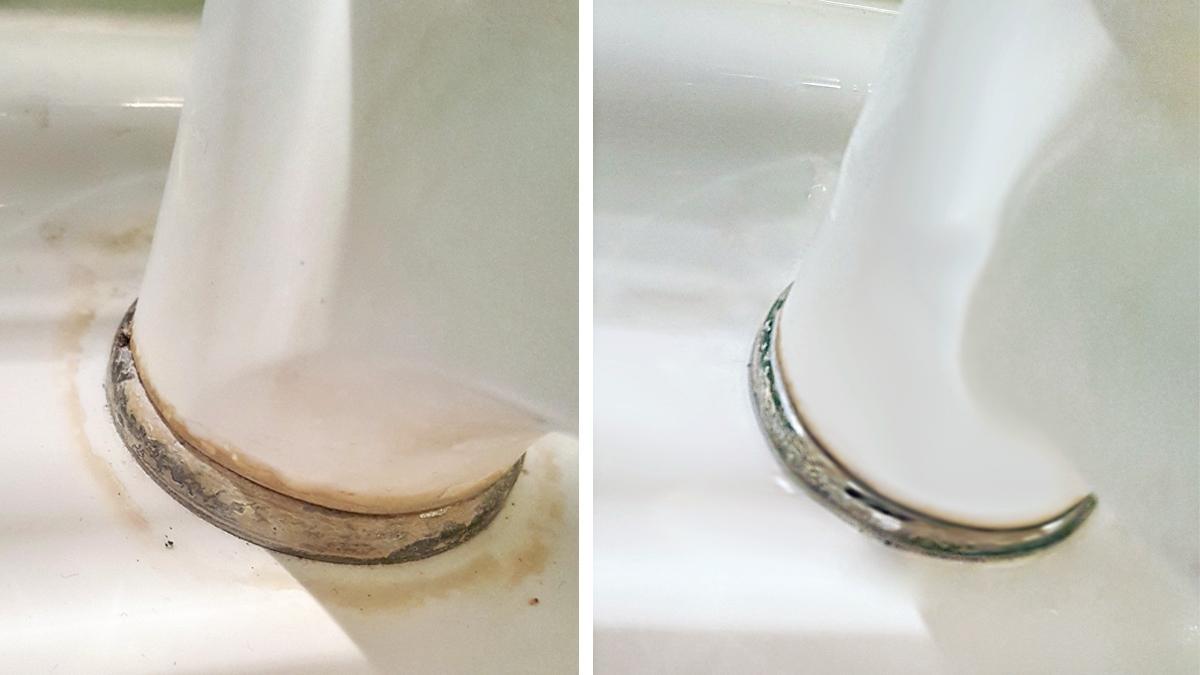 Nie sądziłam, że moja łazienka może być taka czysta! Zobacz, jak usunąć kamień i brud nawet z najtrudniejszych miejsc!