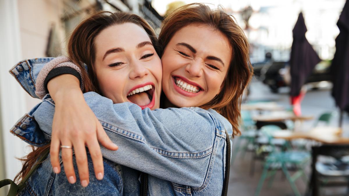 Śmiejące się kobiety