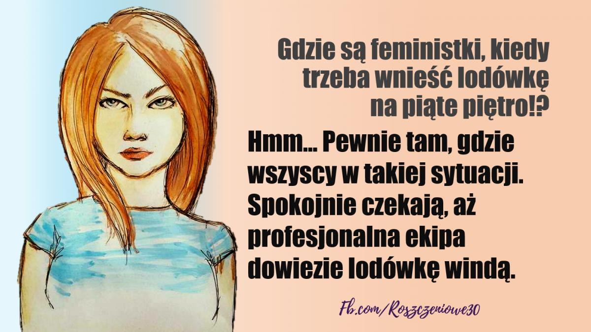 Problem z feminizmem. Czysto.... semantyczny