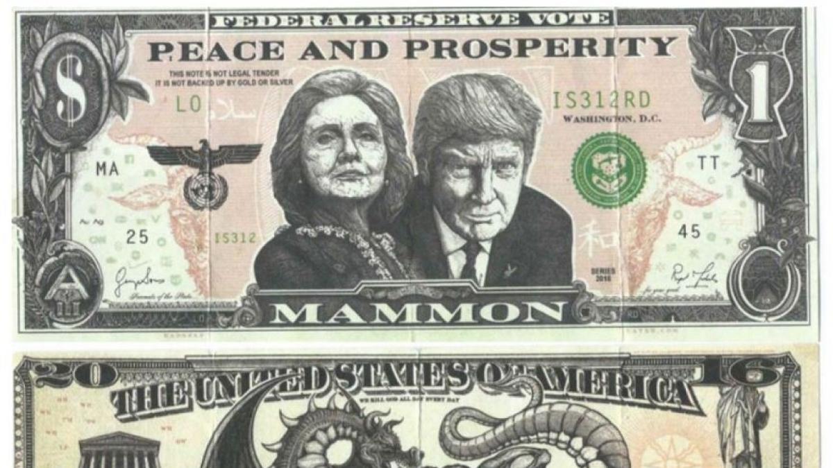 Przedziwne dolary na ulicach, poruszający film - czyli kampania, która podzieliła Amerykę. O co chodzi?