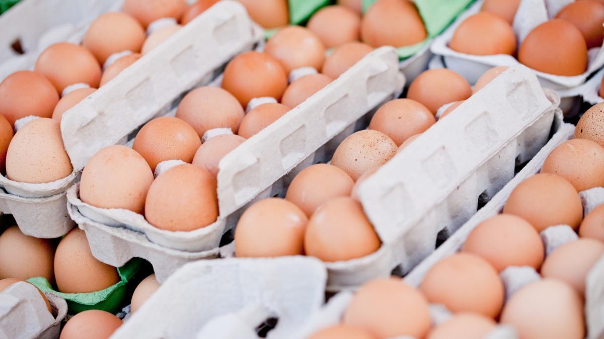 """""""Smród na całą alejkę"""" - robaki w jajkach w markecie. Jest decyzja o wycofaniu ze sprzedaży"""