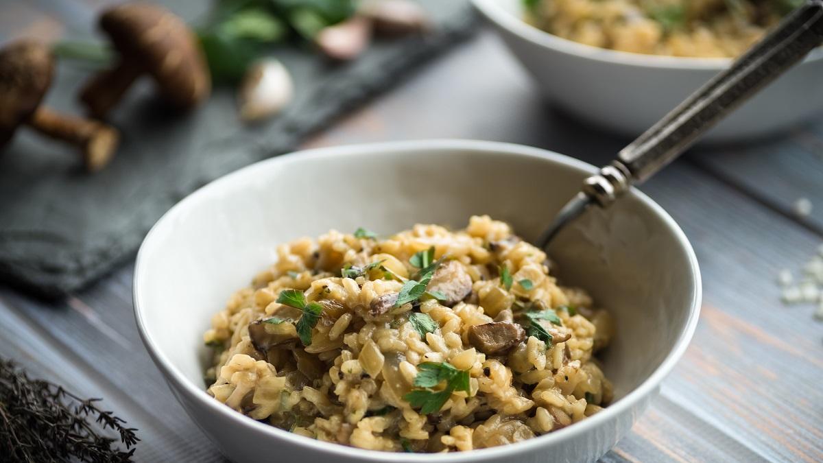 Sprawdzone przepisy na risotto, które przygotujesz z tegorocznych zapasów grzybów!