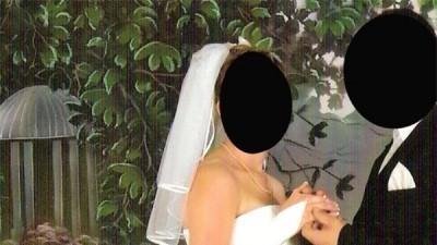 2-częściowa suknia ślubna
