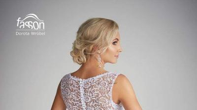 2017! Fasson Dorota Wróbel suknia ślubna 36