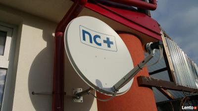 24H! SERWIS naprawa regulacja anten NC PLUS POLSAT Naziemna DVBT ustawianie anten serwis