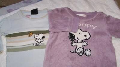 3 bluzeczki H&M na 4-6 m-cy