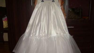 3 częściowa  suknia ślubna