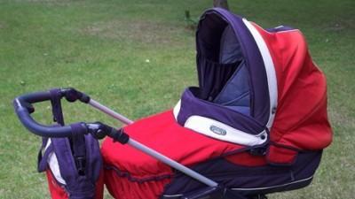 3-funkcyjny wózek Bebecar Tracker - gondola,spacerówka,fotelik