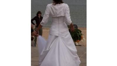350zł OKAZJA! - Suknia firmy Sposabella + Bolerko i dodatki