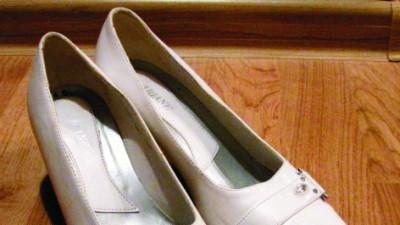 50 zł Białe buty