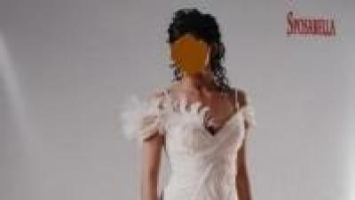 (998zł !!!)NIETYPOWA Sposabella 435, rybka 36 suknia ślubna