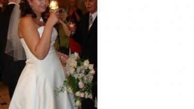 A może taka piękna suknia ślubna ? rozm. 12-16