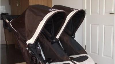 BABY JOGGER CITY ELITE DOUBLE-UNIKATOWY WÓZEK