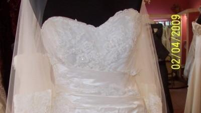 Bajeczna i romantyczna suknia ślubna