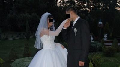 Bajeczna suknia ślubna Demetrios