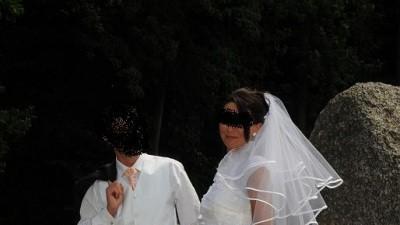 bajeczna suknia ślubna-jednocześciowa