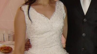 Bajecznie piękna suknia