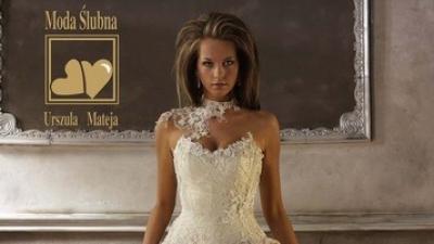 bajkowa i urocza suknia ślubna