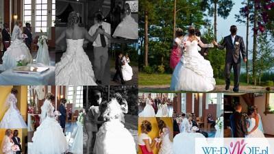 Bajkowa Suknia Ślubna+GRATISY