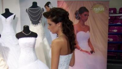 Bajkowa suknia ślubna z kryształkami Swarovskiego - POLECAM!!!