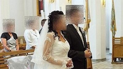 """Bajkowa suknia ślubna z Salonu """"Sarah"""" rozm.38"""