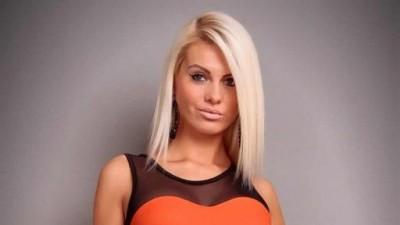 Bandażowa sukienka pomarańczowa HIT 2012