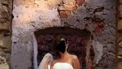 Bardzo elegncka suknia ślubna
