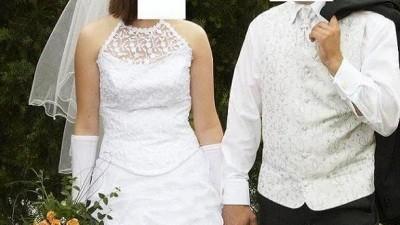 Bardzo ładna suknia slubna
