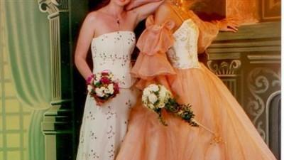 Bardzo oryginalna i niepowtarzalna suknia ślubna