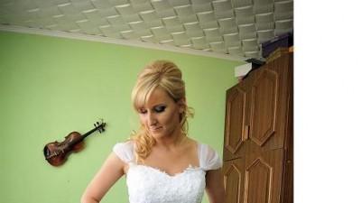 baśniowa suknia ślubna Agnes MS Moda