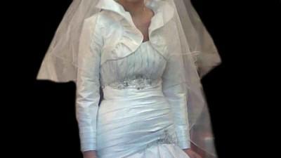 Bedę miała do sprzedania piękną suknię ślubną w październiku