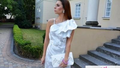 BETTI DESIGN sukienka wizytowa ślub wesele 38 !!!! NA ŚLUB CYWILNY! Elegancka!