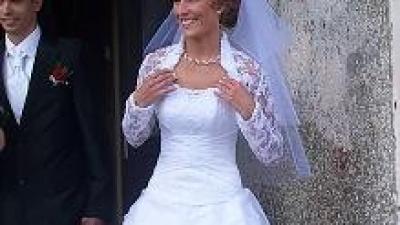 Biał suknia ślubna 34/36 SUPER OFERTA!!