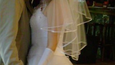 Biał suknia ślubna38/40