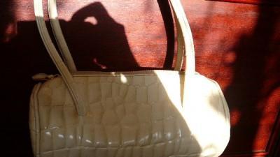 Biała Nowa  torebka mała