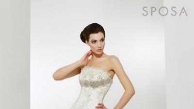 Biała sukienusia LA SPOSA Arabella rozm. 36/38