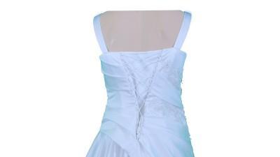Biała suknia 44