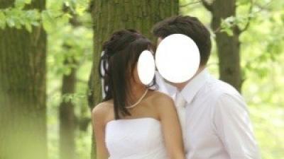 biała suknia AGNES 1556 rozmiar 36