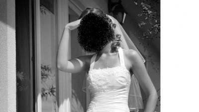 biała suknia MS Moda Celina, rozm.38 +bolerko i welon