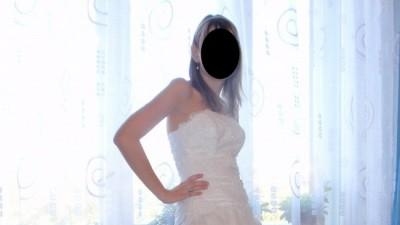 Biała suknia slubna AGNEs