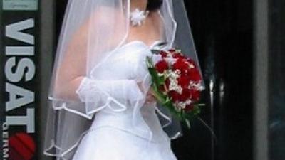 Biała suknia ślubna AGNES rozmiar 38