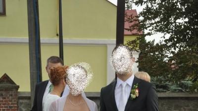 biała suknia ślubna Elizabeth rozm 38