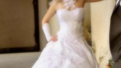 biała suknia ślubna (Emmi Mariage-Romance)rozm.36/38 wzrost164-170cm