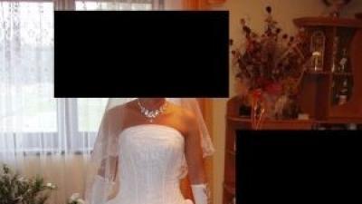 biała suknia ślubna firmy sincerity