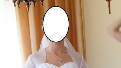 biała suknia ślubna Pasadena